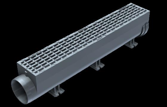 Neu! Hydroblock mit Rostdesign für Fussgänger