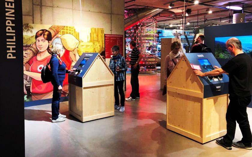 Ausstellung Klimaschutz & Katastrophenvorsorge SRK 30.5.-24.11.19 Umwelt Arena Schweiz
