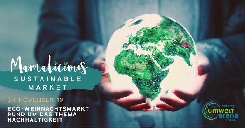 Sonntag, 24.11.2019, 10 - 17 Uhr, Mamalicious Sustainable Market_Banner_820x428