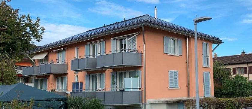 Bruggwiesenstrasse - Energetische Sanierung Bruggwiesenstrasse