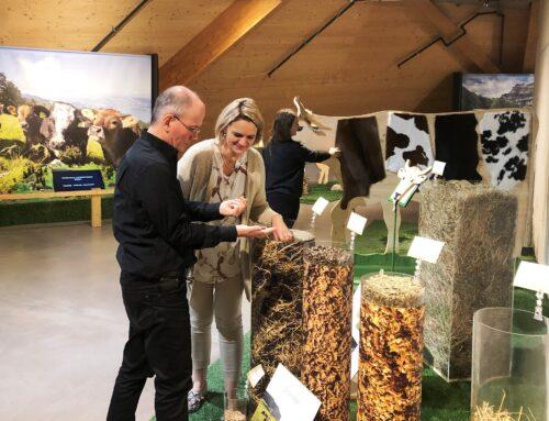 """""""Vom Gras zur Milch""""  – Neue Wechselausstellung in der Umwelt Arena Schweiz"""